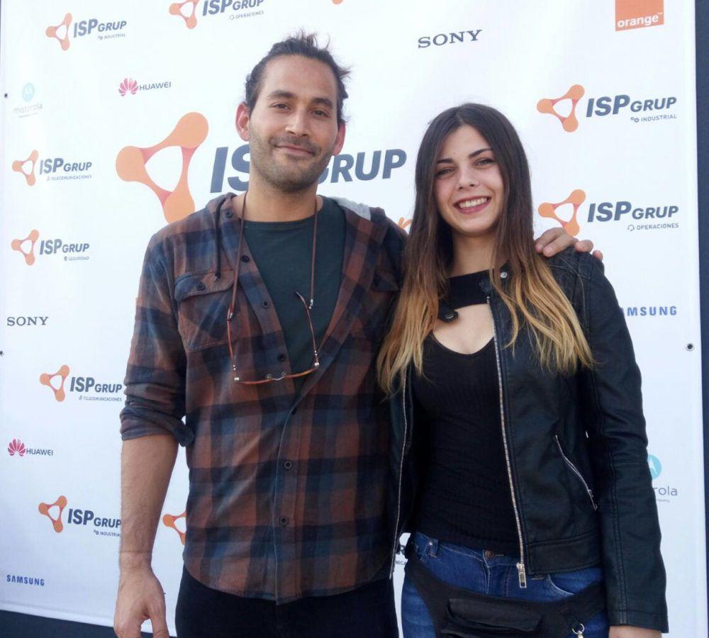 Pablo y Lorena de ISP GRUP