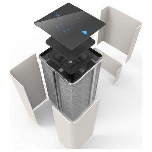 Instal·lació de Purificadors d'aire amb filtre HEPA per empreses