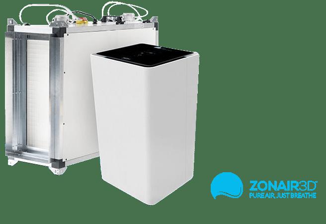 Istal·lació de purificadors d'aire